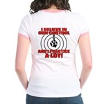Evil Conservative Gun Control Jr. Ringer T-Shirt