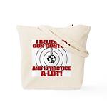Evil Conservative Gun Control Tote Bag