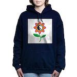 yinyangflower.jpg Hooded Sweatshirt