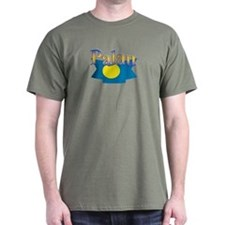 Palau flag ribbon T-Shirt