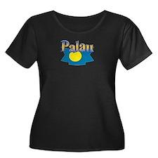 Palau flag ribbon T