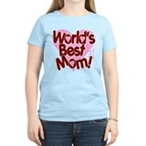 World's best mom Womens Light T-shirts