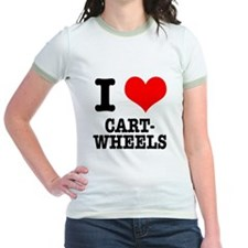 I Heart (Love) Cartwheels T