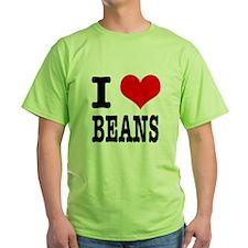 I Heart (Love) Beans T-Shirt