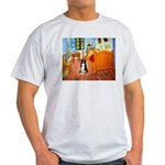 Room with Border Collie Light T-Shirt