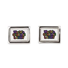 World's Greatest Larry Cufflinks