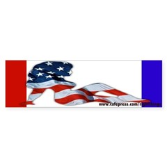 American Woman Bumper Sticker