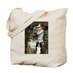 Ophelia & Border Collie Tote Bag