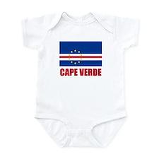 Cape Verde Flag Infant Bodysuit