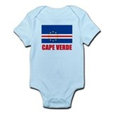 Cape Verde Flag Onesie