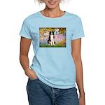 Garden & Border Collie Women's Light T-Shirt