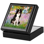 Garden & Border Collie Keepsake Box