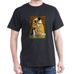 The Kiss & Border Collie Dark T-Shirt