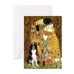 The Kiss & Border Collie Greeting Cards (Pk of 10)
