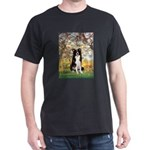 Spring & Border Collie Dark T-Shirt