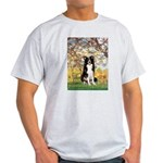 Spring & Border Collie Light T-Shirt