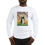 Spring & Border Collie Long Sleeve T-Shirt