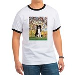 Spring & Border Collie Ringer T
