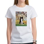 Spring & Border Collie Women's T-Shirt