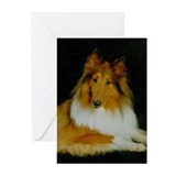 Collie cups Greeting Cards (10 Pack)
