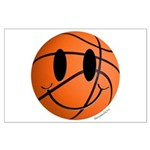 Basketball Smiley Large Poster