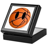 Basketball Smiley Keepsake Box
