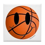 Basketball Smiley Tile Coaster