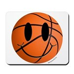 Basketball Smiley Mousepad