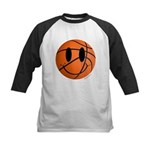Basketball Smiley Kids Baseball Jersey