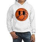 Basketball Smiley Hooded Sweatshirt