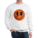 Basketball Smiley Sweatshirt