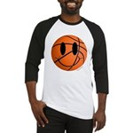 Basketball Smiley Baseball Jersey