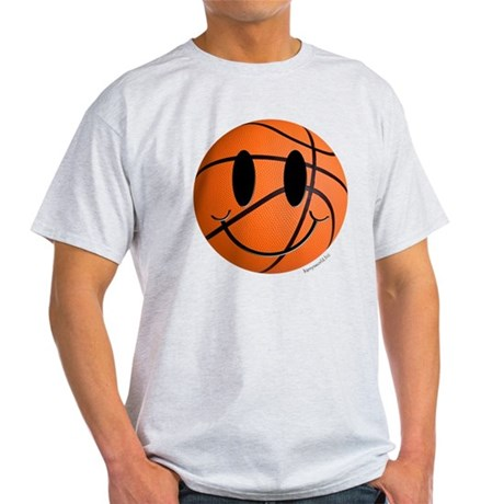 Basketball Smiley Light T-Shirt