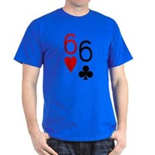 Pocket Sixes Poker T-Shirt