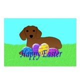 Dachshund Easter Postcards (Package of 8)