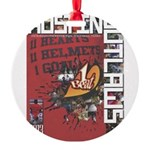 Austin Outlaws 2013 Round Ornament