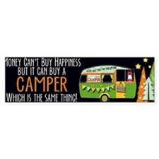 Unique Camp Bumper Sticker