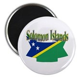 Solomon flag ribbon Magnet