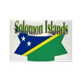 Solomon flag ribbon Rectangle Magnet