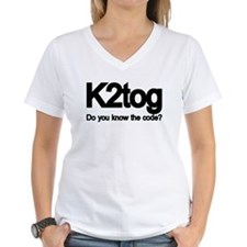 K2tog Knit Together Shirt