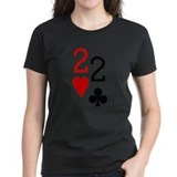 Pocket Deuces Poker Tee