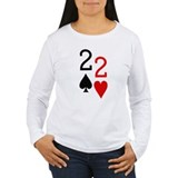 Pocket Deuces Poker T-Shirt