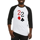 Pocket Deuces Poker Baseball Jersey
