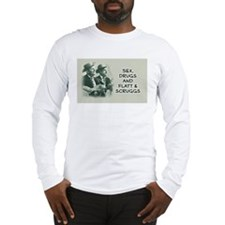 Long Sleeve Bluegrass T-Shirt - Flatt & Scruggs Lo