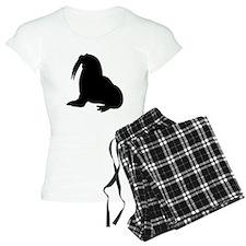 Walrus Silhouette Pajamas