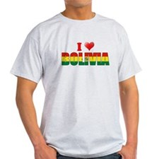 I love Bolivia T-Shirt