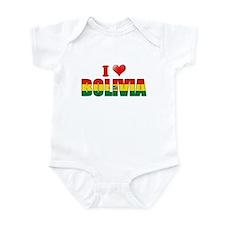 I love Bolivia Infant Bodysuit