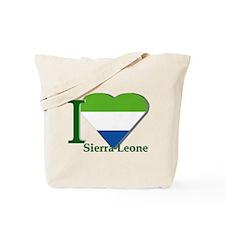 I love Sierra Leone Tote Bag