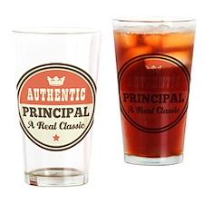 Vintage Principal Drinking Glass