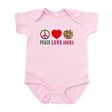 Peace Love Armenia Infant Bodysuit